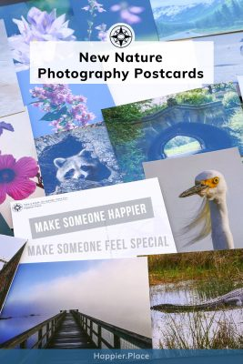 Make someone happier with the new Happier Place outdoor and nature photography postcards by Luci Westphal. Available as gift sets and individual cards.