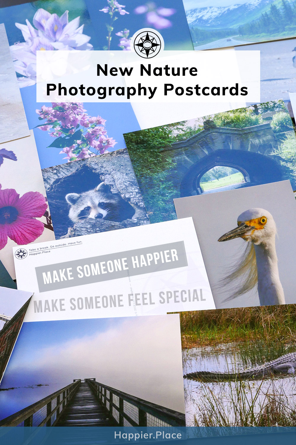 More Ways To Make Someone Happier: New Nature Photography Postcards