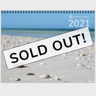 Sold out: Happier Place 2021 Nature Photography Calendar
