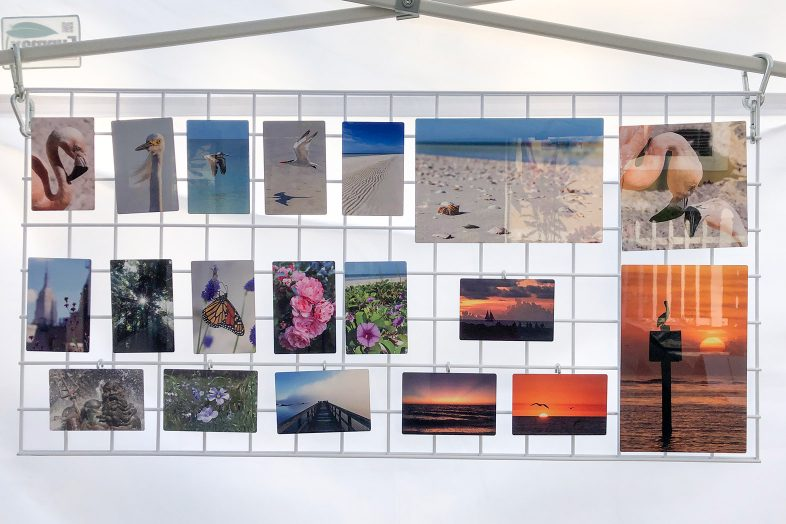 Nature photography by Luci Westphal in the Happier Place pop-up shop