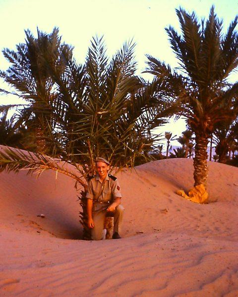 Claude Heron, Algeria, desert