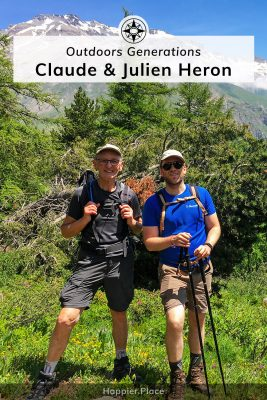 Outdoors Generations - Claude and Julien Heron