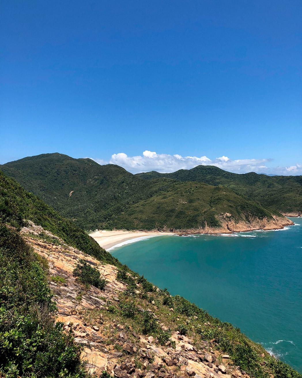 Long Ke Wan Beach, Hong Kong, China. Photo by Julien Heron