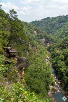 Why not take a moment and be amazed how the Tallulah River could carve this canyon out of the Tallulah Dome rock